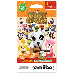 Amiibo Cards collection Series 2, Nitendo