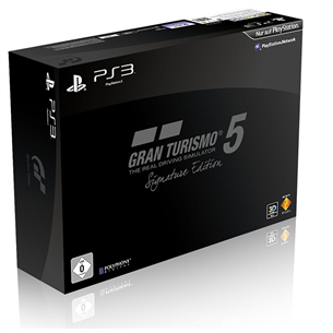 PS3 mäng Gran Turismo 5 Signature Edition