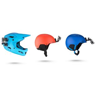 Helmet front and side mount GoPro