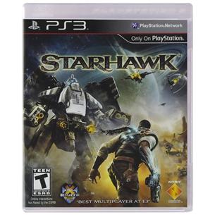 PS3 mäng Starhawk