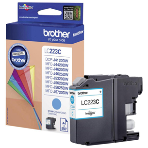 Ink cartridge Brother LC223C / cyan