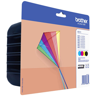 Ink cartridge multi-pack Brother LC223VALBPDR