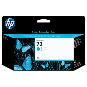 Картридж HP 72 (голубой)