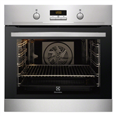 Built in oven Electrolux / oven capacity : 72 L