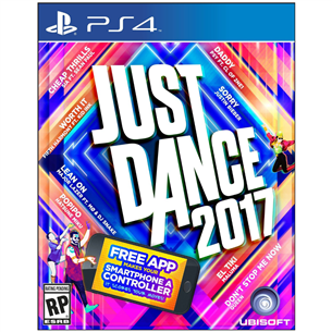 PS4 mäng Just Dance 2017