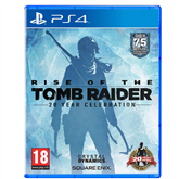 PS4 game Rise of the Tomb Raider 20 Year Celebration