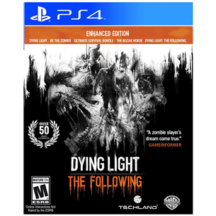 PS4 mäng Dying Light: The Following - Enhanced Edition