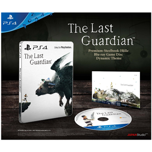 PS4 mäng The Last Guardian Steelbook Edition
