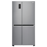 Side-by-Side refrigerator NoFrost, LG / height: 179 cm
