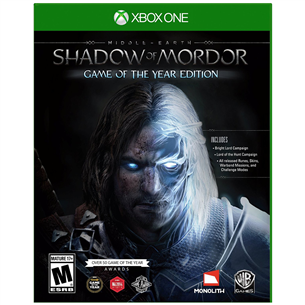 Xbox One mäng Middle-earth: Shadow of Mordor Game of the Year Edition