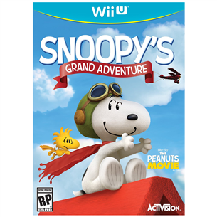 Nitendo Wii U mäng Snoopys Grand Adventure