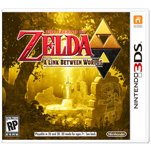 Nintendo 3DS mäng The Legend of Zelda: A Link Between Worlds
