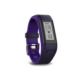 Activity Tracker Garmin Vivosmart HR+ / regular, purple  (136-192mm)