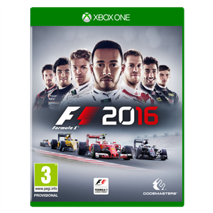 Xbox One mäng F1 2016