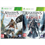 Xbox 360 mäng Assassins Creed: Black Flag + Rogue