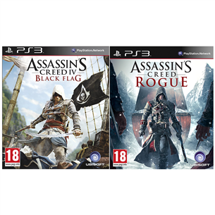 PS3 mäng Assassins Creed: Black Flag + Rogue
