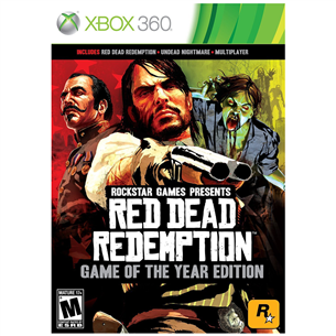 Xbox360 mäng Red Dead Redemption Game of the year edition