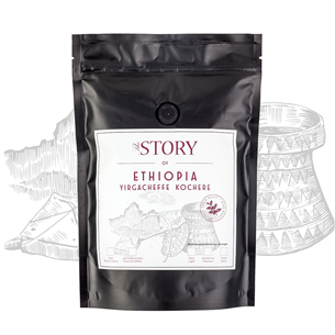 Coffee beans The Story Ethiopia Yirgacheffe Kochere 250 g 4744364010225