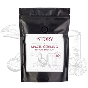 Kohviuba Brazil Cerrado Yellow Bourbon 500g, The Story