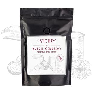 Кофейные зёрна Brazil Cerrado Yellow Bourbon 250г, The Story