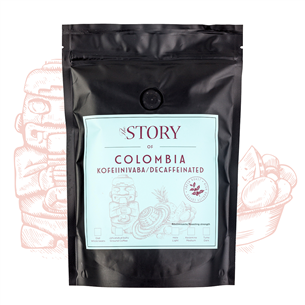 Kohviuba Colombia Decaf 250g, The Story