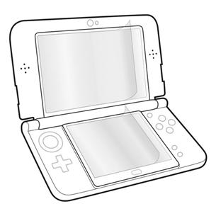 New 3DS ekraanikaitsekile Speedlink