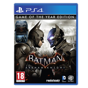 PS4 mäng Batman: Arkham Knight Game Of The Year Edition