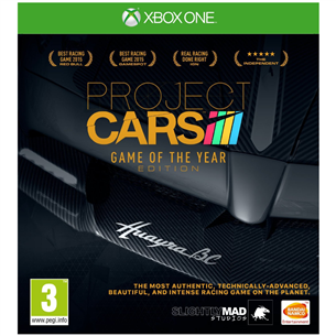 Xbox One mäng Project Cars Game of the Year Edition