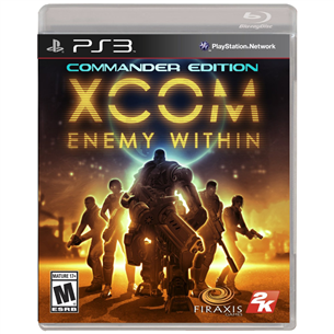 PS3 mäng XCOM: Enemy Within Commander Edition