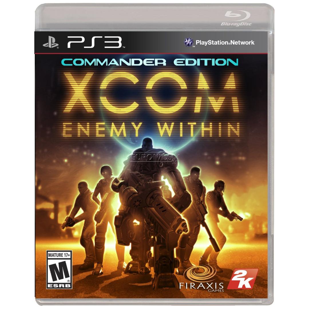 Kết quả hình ảnh cho XCOM: Enemy Within cover ps3
