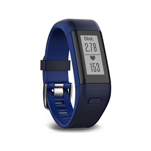 Aktiivsusmonitor Garmin Vivosmart HR+ / regular, sinine(136-192mm)