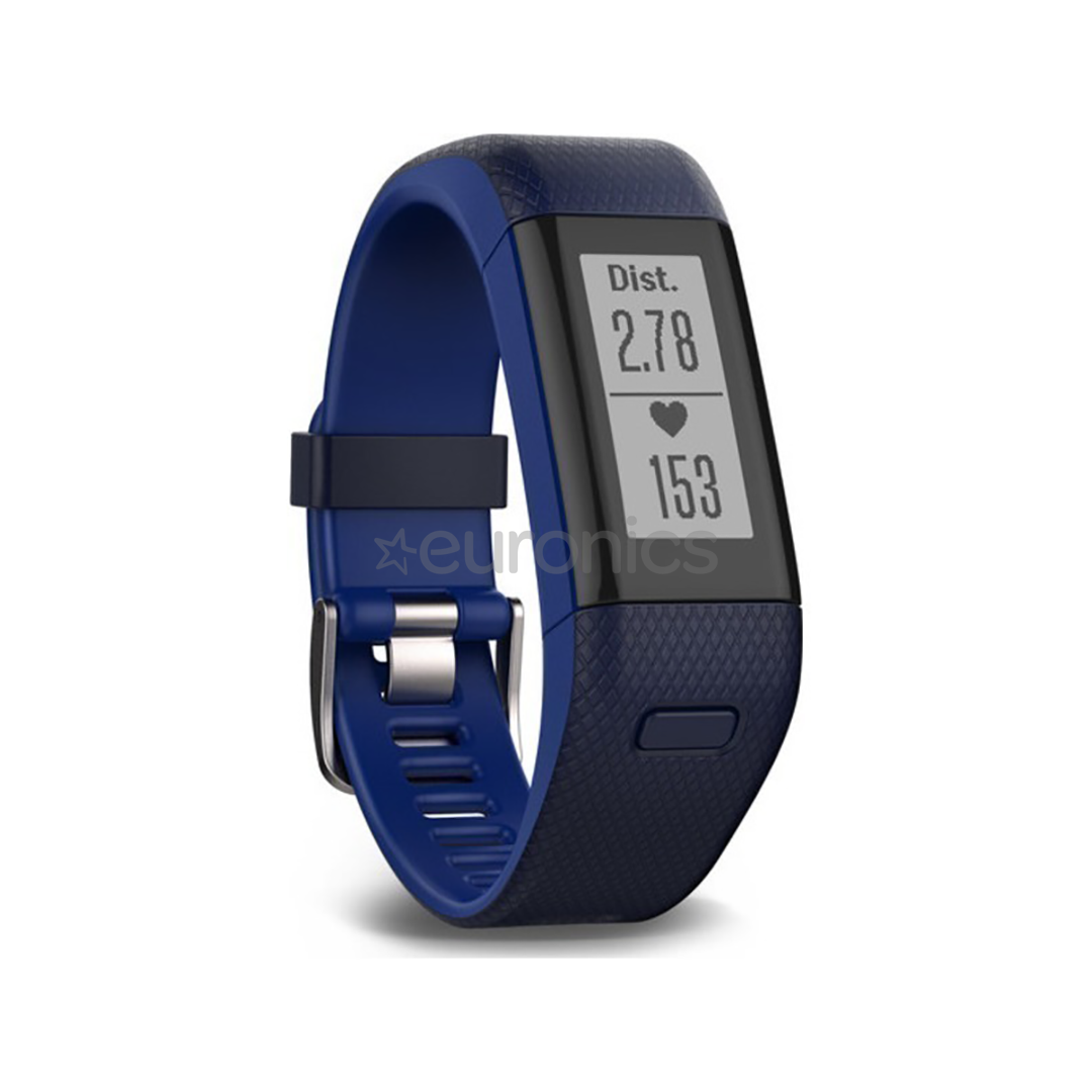 488c52357c5b95 Activity Tracker Garmin Vivosmart HR+ / regular, blue (136-192mm),  010-01955-44, B01DWEBJJG