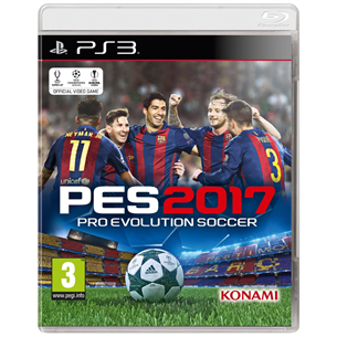 PS3 mäng Pro Evolution Soccer 2017