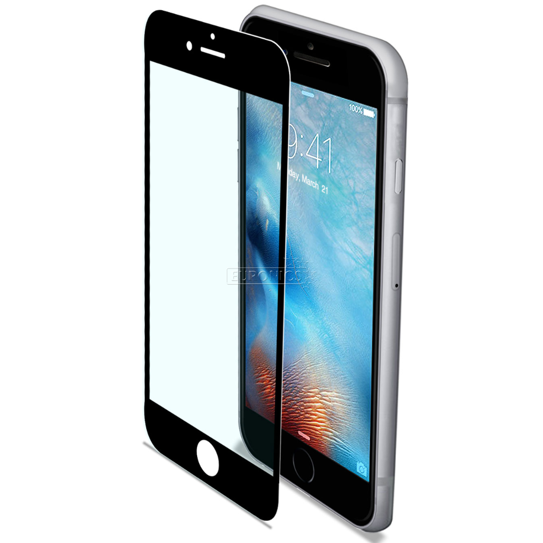 iphone 7 8 screen protector celly glass800bk. Black Bedroom Furniture Sets. Home Design Ideas