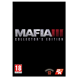 PS4 mäng Mafia III: Collectors Edition