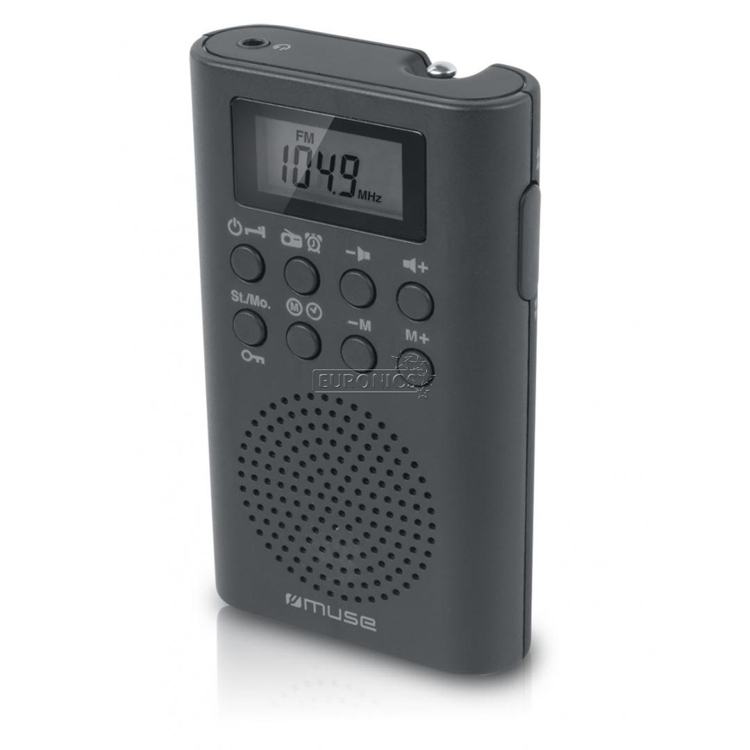 Pocket radio M-02R, Muse, M-02R