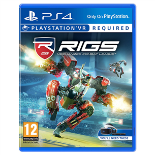 PS4 VR mäng Rigs