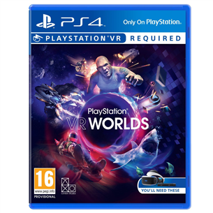 PS4 VR mäng Worlds