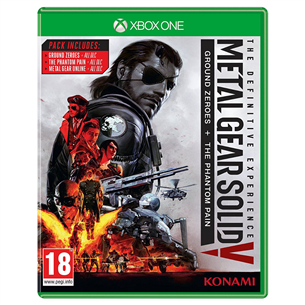 Xbox One mäng Metal Gear Solid V: The Definitive Experience