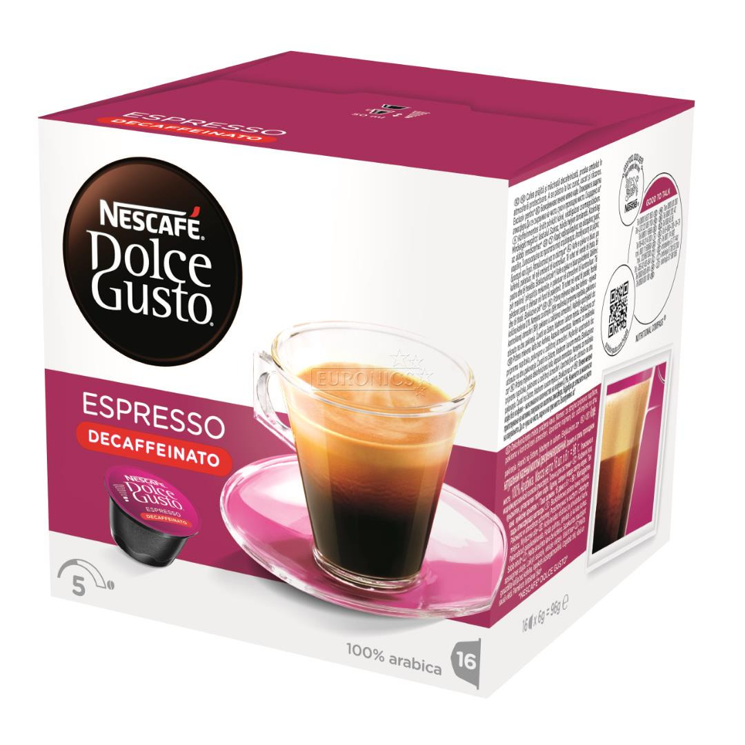 coffee capsules nescafe dolce gusto espresso decaffeinato 7613035260658. Black Bedroom Furniture Sets. Home Design Ideas