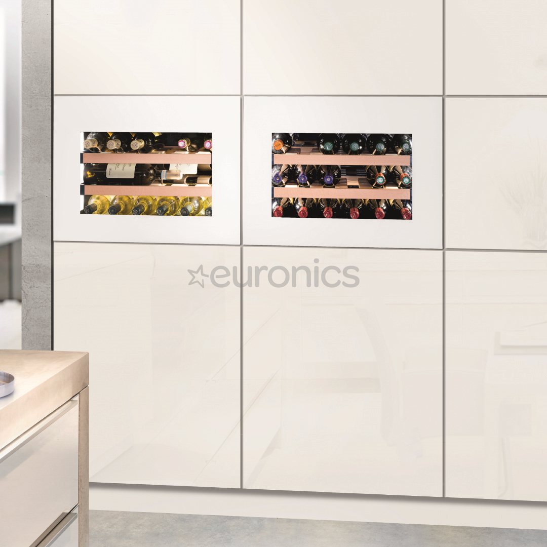 built in wine fridge. Built-in Wine Cabinet GrandCru, Liebherr / Capacity: 18 Bottles Built In Fridge