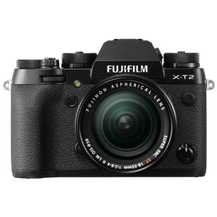 Hübriidkaamera Fujifilm X-T2 + objektiiv XF 18-55mm