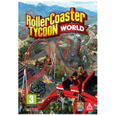 PC game RollerCoaster Tycoon World