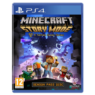 PS4 mäng Minecraft: Story Mode Complete Adventure