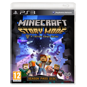 PS3 mäng Minecraft: Story Mode Complete Adventure