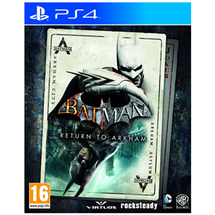 PS4 mäng Batman: Return to Arkham