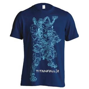 T-särk Titanfall 2 BT Line Art / L