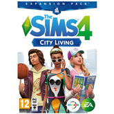 PC game The Sims 4: City Living