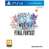 PS4 mäng World of Final Fantasy