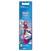 Spare brushes for Oral-B Kids Stages Power Frozen toothbrush, Braun / 2 pcs